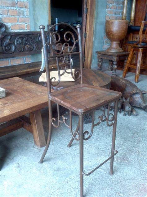 Mesas De Madera Para Jardin #8: Banco-para-bar-de-herreria-y-madera-diseno-exclusivo-D_NQ_NP_4734-MLM4929485993_082013-F.jpg