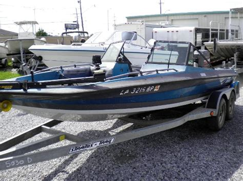 used fish and ski boats in louisiana 1986 stratos fish ski for sale in new orleans