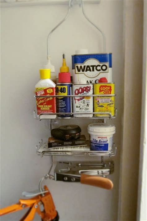 diy shower caddy repurposed shower caddy used for diy supplies the