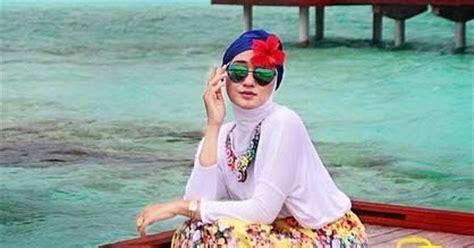 tutorial renang indonesia model baju renang ala dian pelangi terbaru 2017