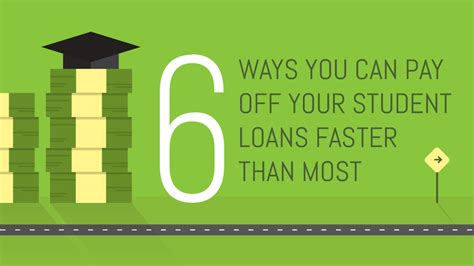 6 ways you can pay off your student loans faster than most
