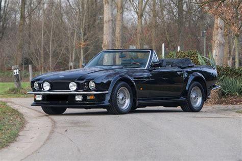 aston martin volante v8 aston martin v8 volante vantage convertible 1988