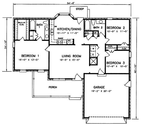 Blueprint For House House 8140 Blueprint Details Floor Plans