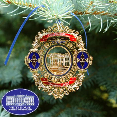 1980 white house christmas ornament 2006 white house chester a arthur ornament