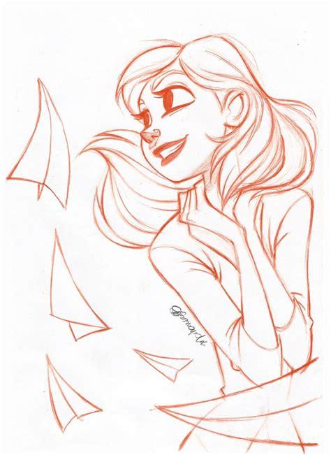 doodle drawing animation meg paperman by andersonmahanski on deviantart