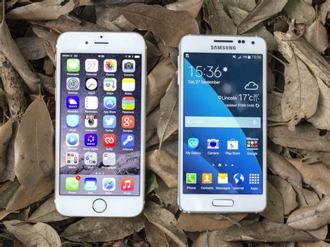 samsung galaxy alpha versus iphone 6 android central