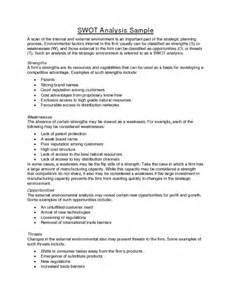 sample swot analysis report swot analysis report personal swot analysis template 18 examples in pdf