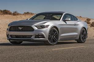 Ford Ecoboost Mustang 2015 Ford Mustang Ecoboost Front Side View Parked Photo 22