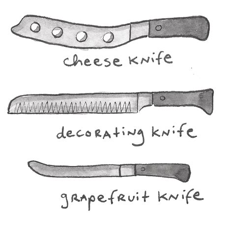 uses of kitchen knives different types of knives an illustrated guide