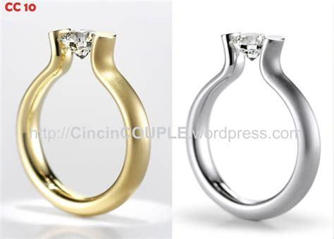 Cincin Kawin Berlian Cincin Nikah Cincin Tunangan Cincin Cr0072 gambar cincin tunangan gambarrrrrrr