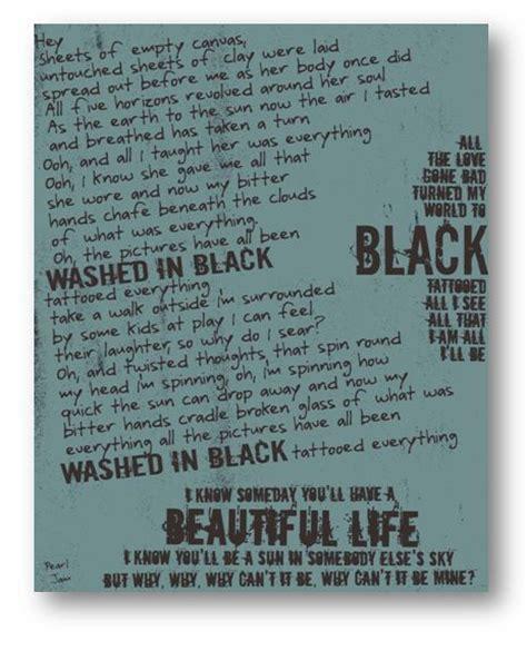 Pearl Jam Garden Lyrics by 25 Best Ideas About Pearl Jam Lyrics On Pearl