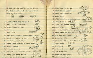 woody guthrie s doodle filled list of 33 new year s