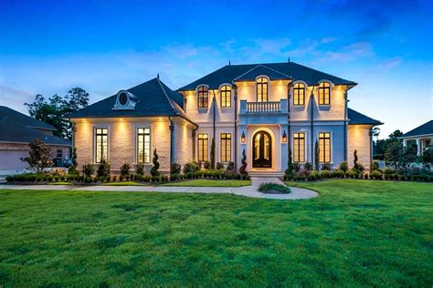 home design baton traditional luxury style house plan 6900 baton