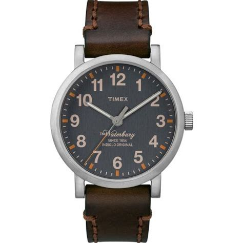 Tali Kulit Jam Tangan Bamboo Grain Watchband Leather 1 just time for timex tw2p58700 2015 waterbury