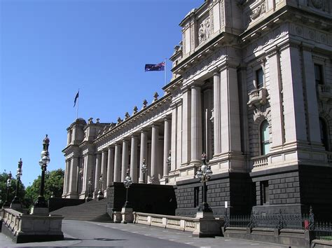 house melbourne parliament house in melbourne australia image