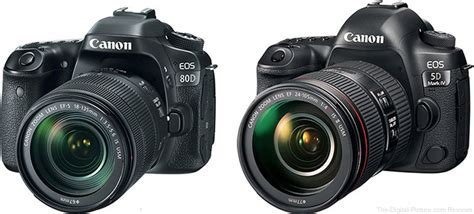 Should I Get the Canon EOS 80D or the 5D Mark IV?