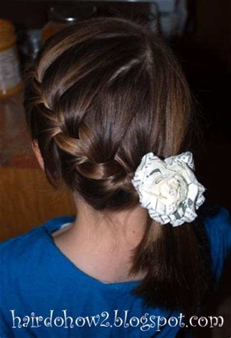 scalp braids in a french twist an off scalp plait with decorations unit 105 plaits and