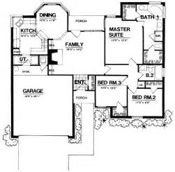 Open Concept Ranch Floor Plans by Open Concept Design 7426rd 1st Floor Master Suite Cad