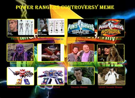 Power Ranger Memes - power rangers meme
