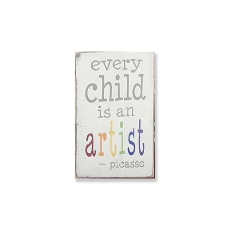 Mug Every Child Is An Artist by Every Child Is An Artist Small Plaque Barn Owl Primitives
