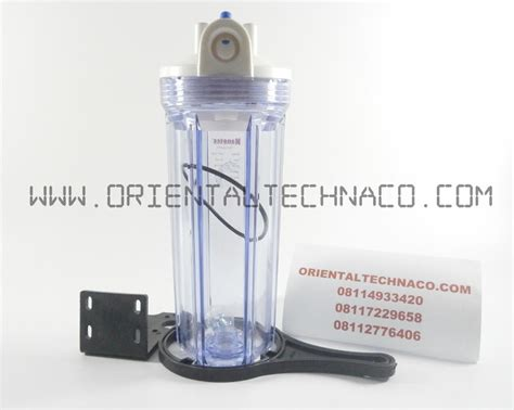 Housing 10 Clear Drat 3 4 Wl10 jual housing filter nanotec 10in clear harga murah