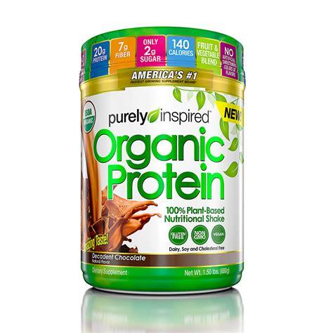 5 protein powder purely inspired organic protein powder 1 5 lb chocolate