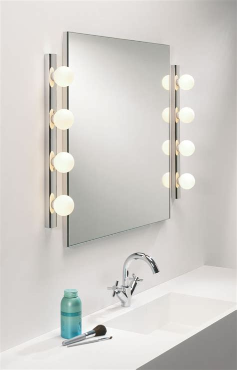 switched bathroom wall lights cabaret bathroom wall light 4 globe lights on a chrome base with pull cord switch