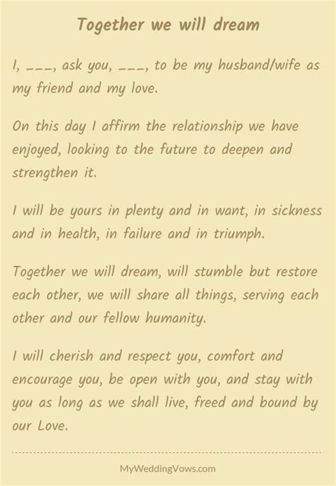 Wedding Vows In Sickness by 17 Best Images About Wedding Vows On I Promise