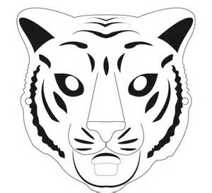 Leopard Mask Template by Animal Mask Template Animal Templates Free Premium