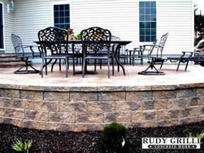 raised patio sted concrete search patio