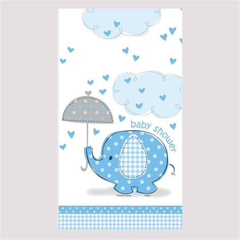 Ebay Baby Shower by Blue Umbrellaphants Baby Shower Boy Tableware Decorations Plastic Tablecover Ebay