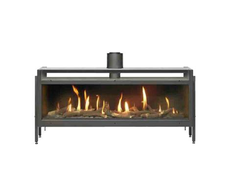 venezia sided fireplace insert by italkero