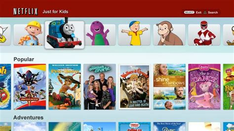 Home Design Shows On Netflix by Netflix Just For Kids Now On The Playstation 3