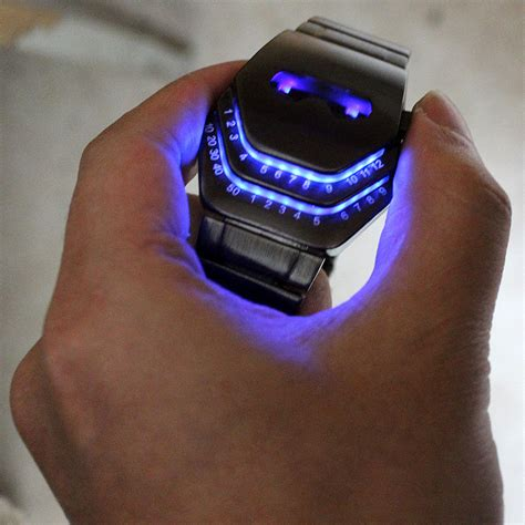 coo gadgets peculiar cool gadgets interesting amazing snake design creativ blue led watches