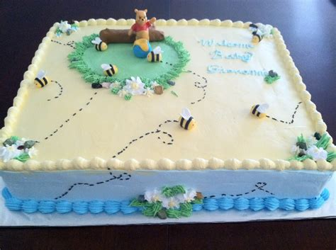 Winnie The Pooh Baby Shower Cake Ideas by Winnie The Pooh Baby Shower Cake Cakecentral