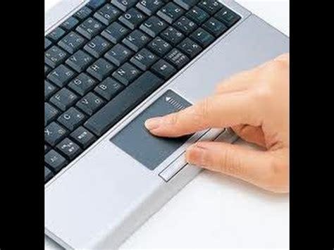 como desbloquear el touchpad al escribir o al presionar