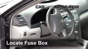 2007 Toyota Camry Fuse Box Interior Fuse Box Location 2007 2011 Toyota Camry 2009