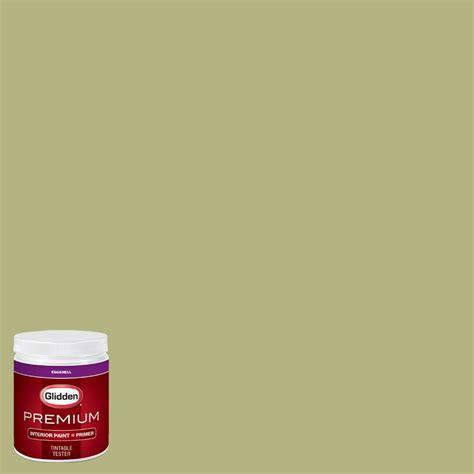 home depot paint colors glidden glidden premium 8 oz hdgg21u bud green eggshell