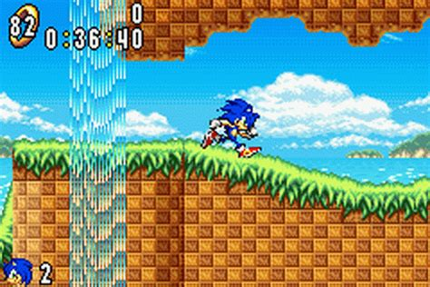 Free Online Arcade Games play sonic advance nintendo game boy advance online play