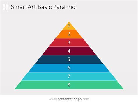 Lights America by Powerpoint Pyramid Diagram Presentationgo Com