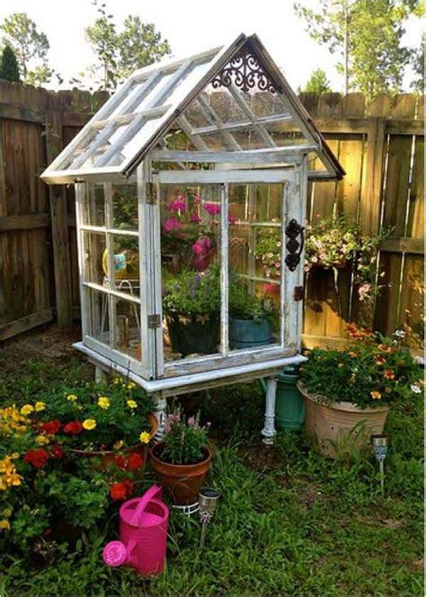 Greenhouse From Salvaged Windows Decor 10 Greenhouses Made From Windows And Doors Total Survival