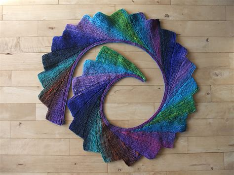knitted scarf patterns using sock yarn wingspan pattern by maylin tri coterie designs beautiful