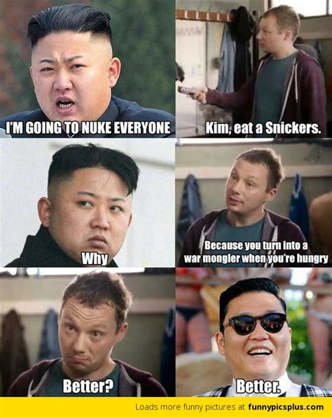 Barefoot Contessa Nuclear by Kim Jong Un Is Psy Funny Pictures
