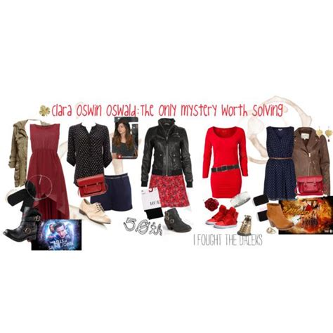 16 4 Fashion Doctor 3298 quot of clara oswin oswald quot by gallifreyfashions on