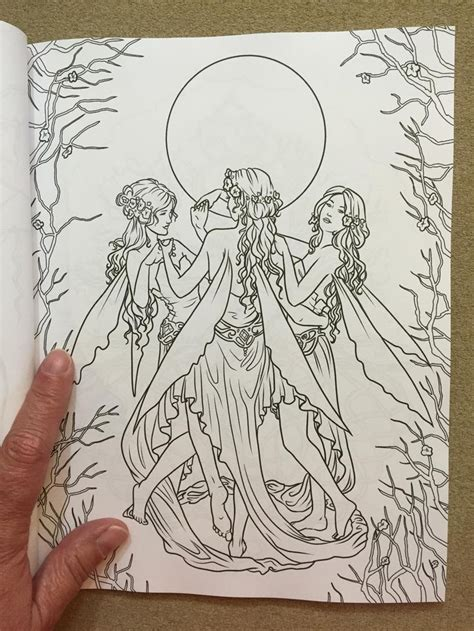 enchanted fairies coloring book books enchanted magical forests coloring collection