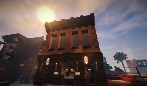 nice Built In Bar Ideas #3: Oslo-Bar-Grill-Wok-minecraft-building-ideas-modern-town-3.jpg