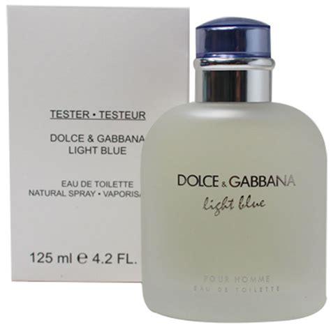 Parfum Tester Pria Dolce Gabbana Light Blue 125ml Edt dolce gabbana light blue 4 2 oz 125 ml eau de toilette for white in box ebay
