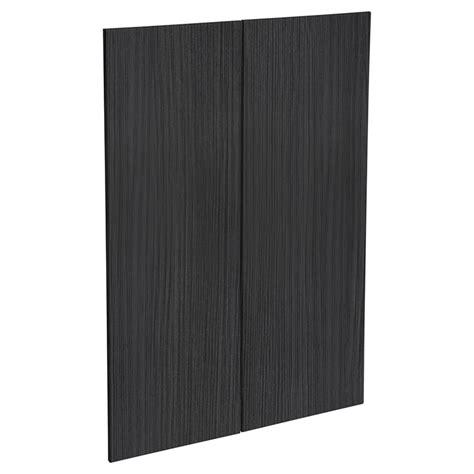 kaboodle mm black forest modern medium pantry door  pack