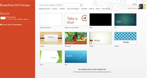 Microsoft Powerpoint 2013 Hands On Pcworld Powerpoint Office Templates