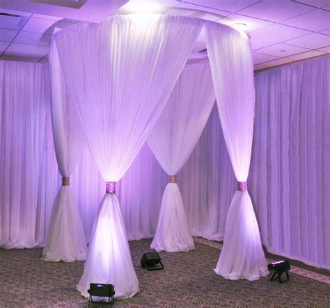 circular pipe and drape chuppah canopy wedding reception canopy event d 233 cor direct